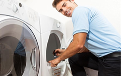 FREE Dryer vent cleaning (easy access)